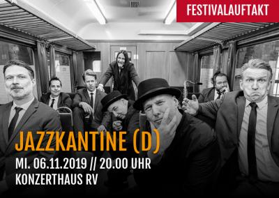 Festivalauftakt mit Jazzkantine