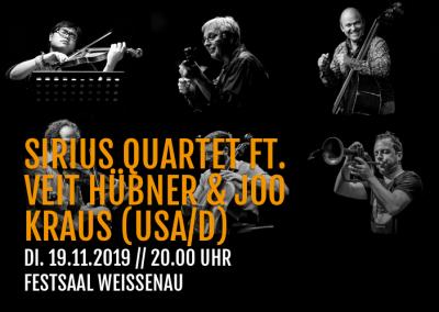 Sirius Quartet dt. Veit Hübner