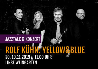 Rolf Kühn: yellow&blue